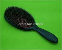 Boar Bristle Hair Brush Plastic Hair Brush Paddle Hair Brush Hair Extension Brush GIC-HB531 (1 piece) Free Shipping