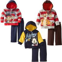 Autumn kids clothes sets mickey mouse conjunto de roupa clothing set roupa infantil children outerwear baby boy clothing set