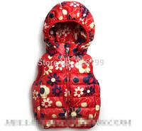 wholesale, autumn-winter children vest, new 2014, boys vest & waistcoats, hooded jacket, boy kids outerwear Free Shipping