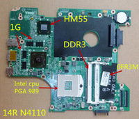 for Dell Inspiron 14R N4110 Laptop Motherboard 0FR3M DDR3 PGA 989 non-integrated  100%Tested+Free Shipping