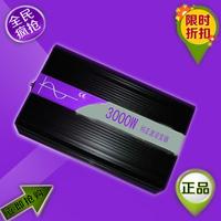 3000W Inverter Pure Sine Wave 12V DC to110VAC 60HZ solar inverter power  free  shipping
