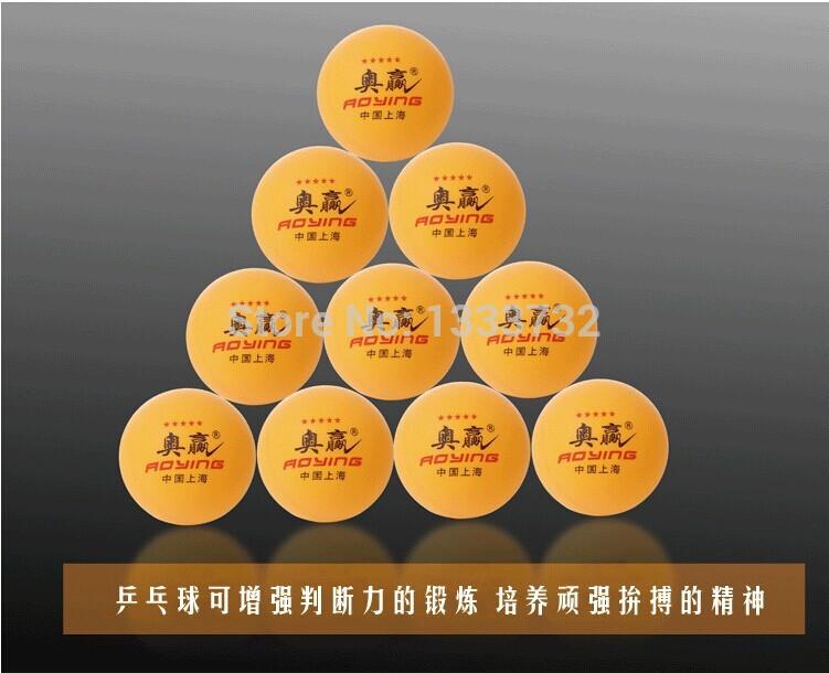 Free Shipping 20Pcs/lot High Quality 1-Stars 40MM Olympic Table Tennis PingPong Balls color Orange(China (Mainland))