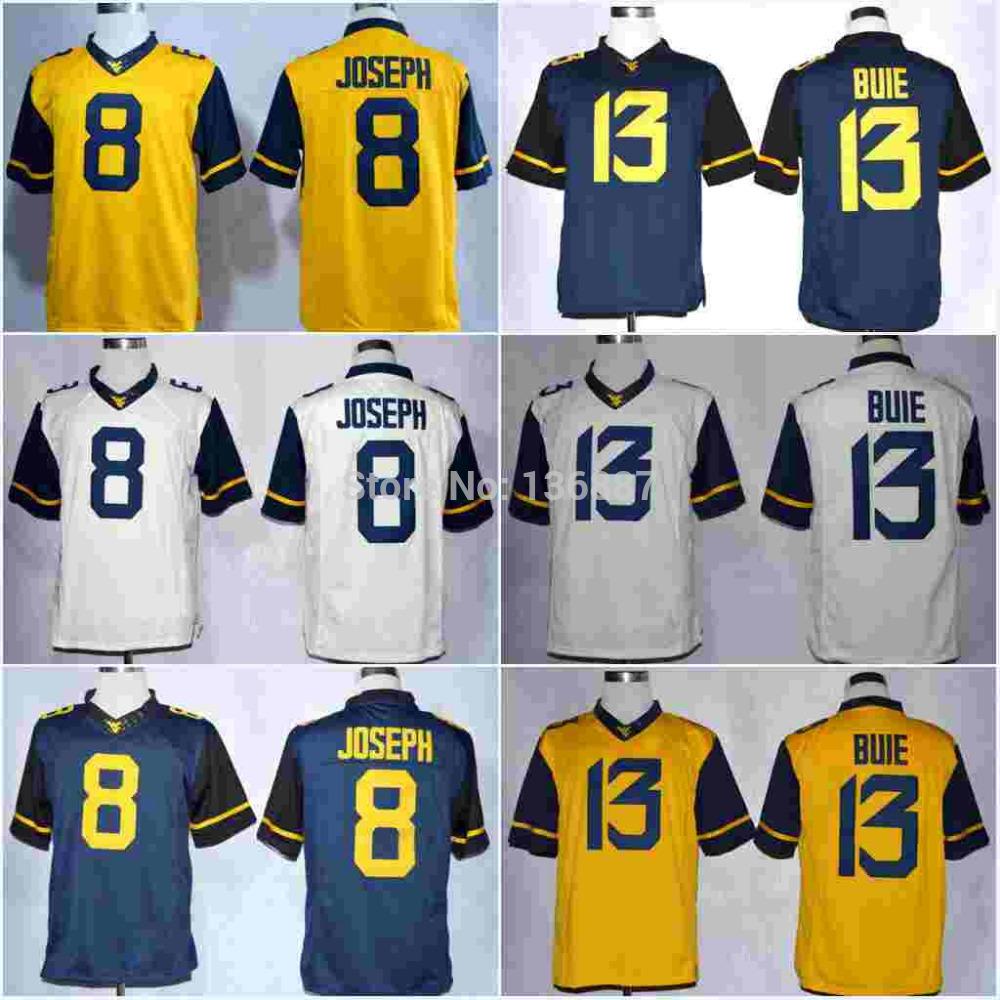 #8 Karl Joseph,West Virginia Mountaineers (WVU) NCAA College Football Limited Jerseys,2014 New Cheap Jersey, Embroidery logos(China (Mainland))