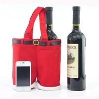 Handbag Candy Pouch Bag Wedding Sack Present Gift Bag Girl Lady Christmas Decoration Cute Santa Lovely Wholesale