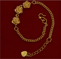 Free Shipping 10pcs/Lot Mix Style Gold Plated Bracelets For DIY Craft Jewelry LG3