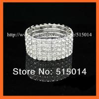 NEW,Free Shipping ! 10Rows Rhinestone Napkin Ring,Bracelate.