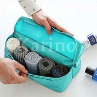 Free shipping Wholesale NEW Organizer Functional Travel Underwear Pouch,Wash Package,Toilet Bag, Cosmetic Case