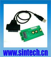 SINTECH NGFF M.2 B+M Key SSD to micro SATA Adapter card with USB Micro SATA cable