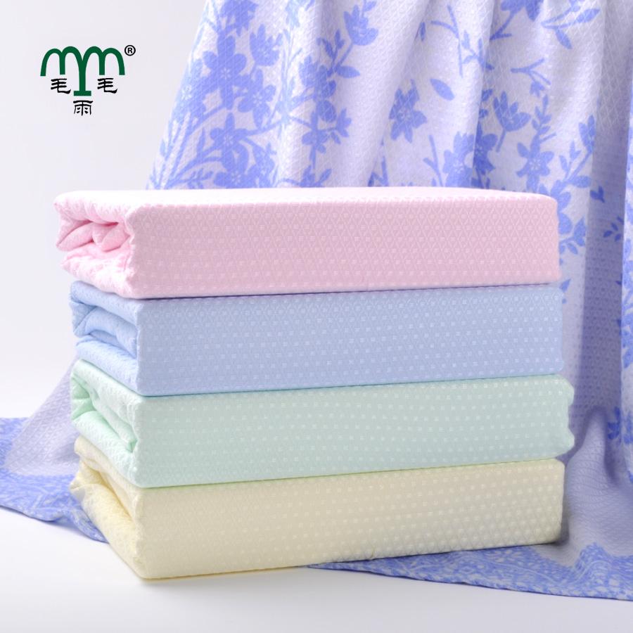 Summer bamboo fibre towel blanket,Adult bamboo bed sheet,Children air conditioning blanket,Bamboo bath towel(China (Mainland))