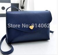 Free shipping Candy colors Lady fashion handbags 16*24*7 cm