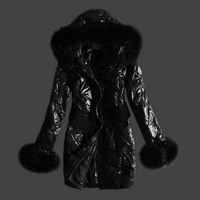 free shipping high quality slim thick down jackets for woman 002