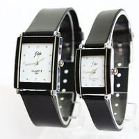 Martian man 2014 new arrival fashion Korean fashion lovers watch 4 diamond simple joker belt watch free shipping D0059