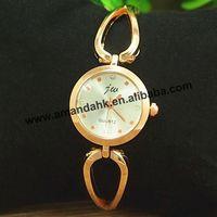 50pcs/lot,JW-3427 Bangle Rose Gold jw Woman Rhinestone Dress Quartz Watches Bracelet Jewelry Wristwatch Steel Heart Watch Band