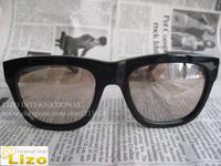 Free Shipping Chiara Ferragni Favor designer Men and Women fashion sunglasses Ara Gold Mirror 2014 with box