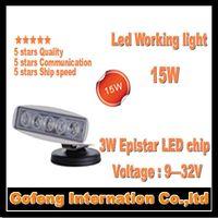 1PCS/LOT high power DC10-30V IP6715w car work spotlight light Offroad Truck epistar ship led working lamp free shipping