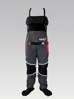 lenfun kayak dry bibs with relief zipper,kayaking fish pants,unisex dry pants, Waterproof pants