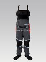 Lenfun Man's Whitewater dry pants,Touring,Kayaking dry pants bibs with relief zipper,Sea Kayaking,Rafting Paddling,Canoeing