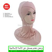 Muslim long single cross design hijab,underscarf,inner cap,free shipping