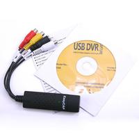 New EasyCAP USB 2.0 TV DVD VHS Video Audio AV Capture Support WIN 7 WIN 8(EA-60) #L0192491