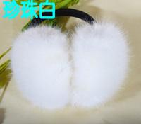Faux fur wool rabbit fashion earmuffs ear package earmuff