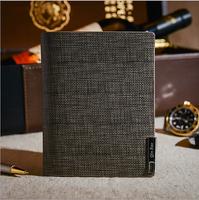 2014 new leather men  wallets a short paragraph wallet card pack soft side business men brand wallet
