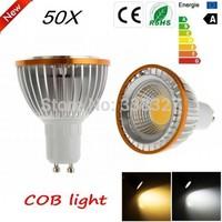 50pcs/lot PAR20 COB Chips GU10  E27 MR16 B22  9W / 15W Dimmable High Power Led light Led  Lamp  Spotlight Free Shipping