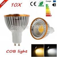 10pcs/lot PAR20 COB Chips GU10  E27 MR16 B22  9W / 15W Dimmable High Power Led light Led  Lamp  Spotlight Free Shipping