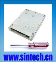 "SINTECH mini SATA mSATA SSD to 2.5"" 44pin IDE adapter with case"