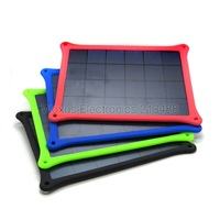 4 Color 5W Solar Panel Portable Travel Outdoor Solar USB Battery Charger For Mobile Phone Tablet PC MP3 GPS