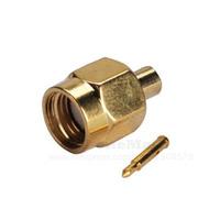10pcs/lot Wholesale Sale SMA Male Solder Plug Connector for RG405  .086'' Cable