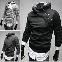 Free Shipping 2014 NEW fashion  Hot High Collar Men's Jackets ,Men's Sweatshirt,Dust Coat ,Hoodies Clothes,cotton wholesale