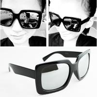 Star Fashion Vintage Men Women Mercury Mirror Sunglasses,Square Frame Multicolor Sun Glass Eyeglasses Free Shipping