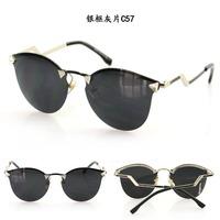 2014 free shipping  New arrivefashion  so cool women cat eye sunglasses  IRIDIA sunglasses  848  uv400