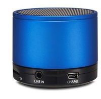 s11 Portable Mini Bluetooth Speakers Metal Steel Wireless Smart Speaker Subwoofer With MP3 Player Support SD Card