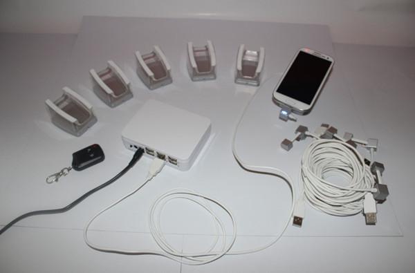 Handy-display sicherheitssystem, Schutz 6 handys