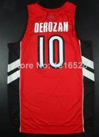 Raptors DeMar DeRozan Basketball Jersey Basquete Basketball Shirt Rev 30/Mesh For Men