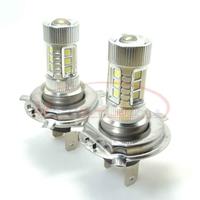 H4 High Power 80W Fog Light Headlight Driving Daytime Running Light Hi/Lo Samsung LED Chip Lamp Xenon White DC 12V-24V 2pcs/lot