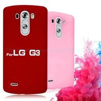 Matte Colorful Hard Plastic Back Cover for LG G3 Case Cover Protective Cell Phone Cases for LG G3 High Quality