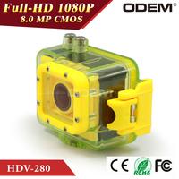 60M Underwater Driving Waterproof Recorder Helmet Mini Camcorder Full HD 1080P Sport Action Camera Professional Digital Cameras
