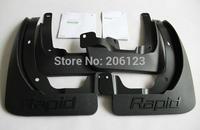 Soft plastic Mud Flaps Splash Guard Fender For 2013 Skoda Rapid