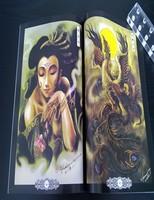 NEW A4 Rare Tattoo flash Art Magazin China Traditional FU'S ZGY NO.3  B4-BOOK1032