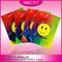 Wholesale Mr happy 12g 4 flavors plastic spice potpourri bag / aluminum foil herbal incense bag