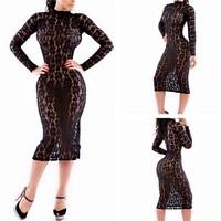 S/M/L size women lace dress wholesale 2014 fashion sexy plus size club dress women black lace dress free shipping