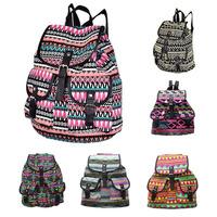 Free Shipping Vintage Preppy Style Womens Lady Hobo Travel Rucksack School Bag Satchel Shoulders Bag Bookbacks Canvas Backpack