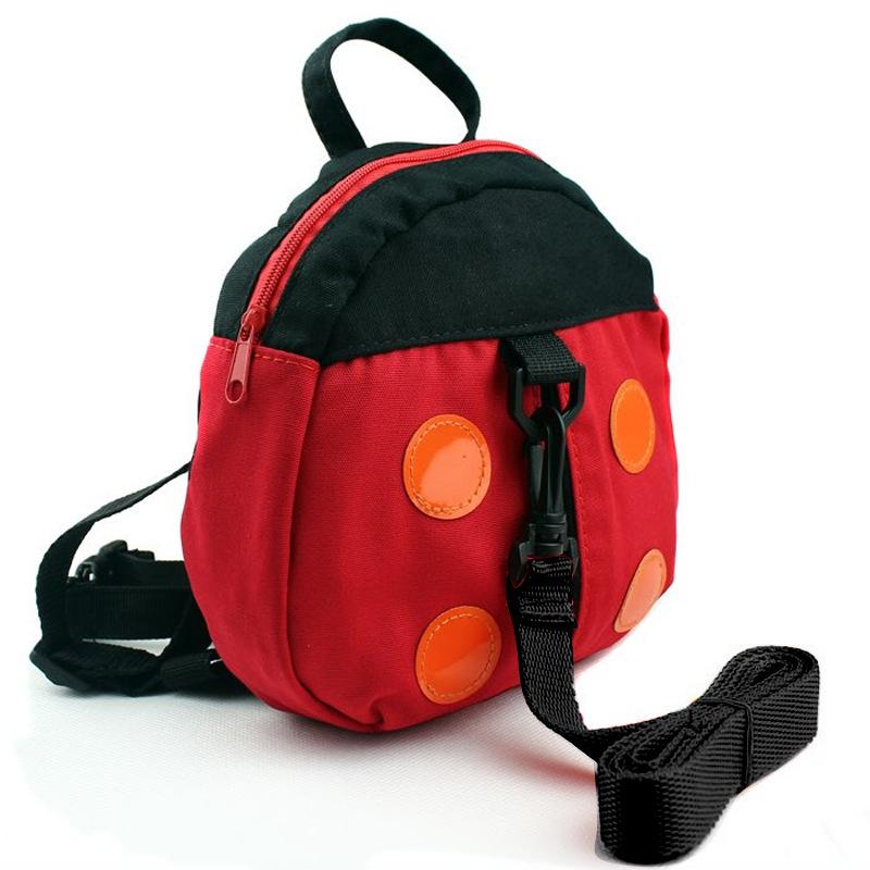 Y255 детских плечах плавающей червь детские торговли божья коровка детские anti-потерял сумка рюкзак