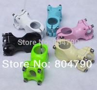 *Retail* Aluminum Alloy Baking Finish 25.4x60MM MTB Mountain Road Bike Bicycle Handlebar Stem Green/White/Bue/Black/Pink/Beige