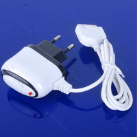 D19New EU Plug With Cable Home Wall AC Charger Adapter For Phone 4G 3G 3GS White Free shipping