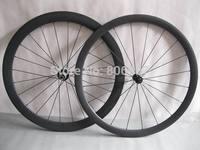 High quality 700c carbon bike wheels,3K matte finish /(38+50)mm road bicycle carbon fiber tubular wheels with Powerway R13 Hubs