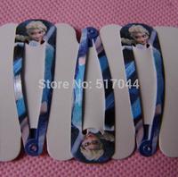 FREE SHIPPING  Frozen New arrival Frozen Elsa Anna Hair Clips Hairpin Barrettes Children Girls Headwear  40pcs/lot