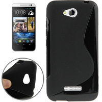 Fahion  S Line Design Gel Soft TPU Case Cover For HTC DESIRE 616 D616W Back  Skins +Free Shipping